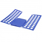 Adult Flip Clothes Shirt Folder Folding Board Organizer - Blue (Size L)