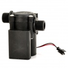 HS08 PVC DIY Hydro-Electric Generator for Hot Heater - Black