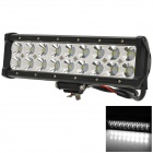 54w 3780lm 6500K 30-Degree White Spotlight Working Lamp Bar w/ Cree XB-D for Offroad Car - Black