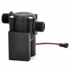 HS07 PVC DIY Hydro-Electric Generator for Hot Heater - Black