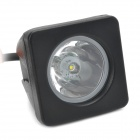 10W 30-Degrees Spot Beam Work Light Square Offroad / Daytime Running Lamp w/ Cree XM-L LED (10~30V)