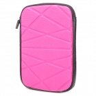 "8"" Protective Neoprene Pouch for Ipad MINI - Magenta + Black"