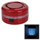 YeMao JG-801 Convenient Outdoor LED Tent Lamp for Camping - Red + White (3 x AAA)