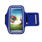 Sporty Gym Armand for Samsung GALAXY S4 / Samsung GALAXYWin  SCH-I869 - Blue