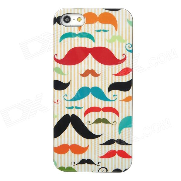 все цены на Protective Multicolor Mustache Pattern Plastic Back Case for Iphone 5 онлайн