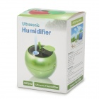 AIR300 style Apple USB Propulsé humidificateur d'air ultrasonique - Vert + Noir