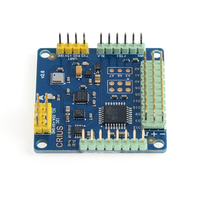 CRIUS MWC MultiWii SE V2.5 Version Multi-Copter 4-Axis Main Flight Control Board - Blue запчасти и аксессуары для радиоуправляемых игрушек mystery multiwii se v2 5 multi 4 6 8axis zm mwc 2 5