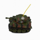 Mini Remote-control 360° Rolling Tank w/ Light - Camouflage Green