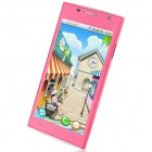 "H3038 Android 4.1.1 MTK6517 Dual Core GSM Bar Phone w/ 4.5"", Quad-Band, FM and Wi-Fi - Deep Pink"