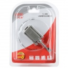 UNITEK Y-1050 USB macho a DB9pin RS2322 Adaptador Cable - Gris (1,5 m)