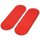 Universal Reflective Warning Rubber Body Band for Cars - Red (2 PCS)