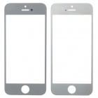 Replacement Front Glass Screen for iPhone 5 - Silver