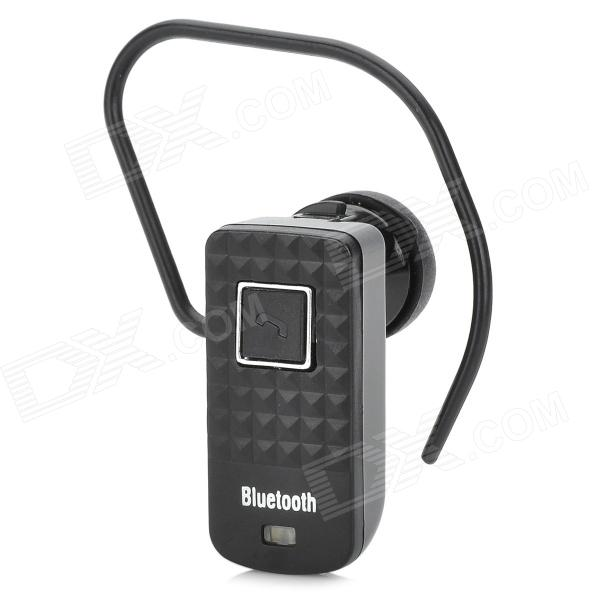 01 Universal Mini Bluetooth V2.0 Earbud Headset w/ Microphone for Cellphone - Black