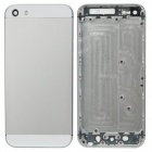 Replacement Middle Plate Back Case Cover w/ Nano SIM Card Tray / Buttons for iPhone 5 - White