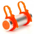 T-05 Swimming Diving Waterproof MP3 Player w/ FM Radio + Earphone - Silver + Orange (8GB)
