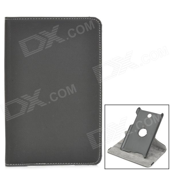 360 Degree Rotatable PU Leather Case for Asus ME371MG - Black