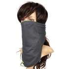 QingLongLin Quick Drying Breathable Cycling Scarf Mask - Dark Grey