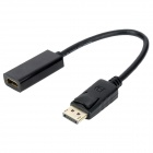 Displayport Male to HDMI Female Adapter - Black (25cm)