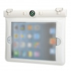 "Waterproof Bag w/ Compass / Strap for Ipad MINI / 7"" Tablet PC - White + Black"