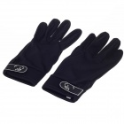 Stylish Anti-slip Breathable Full-Finger Gloves - Black (Size-XL / Pair)
