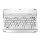 HT-P2093 Bluetooth v3.0 78-Key Keyboard for Samsung Galaxy Tab P7500 / P5100 - Silver + White