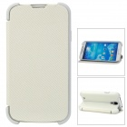 Protective Folding PU + TPU Case for Samsung Galaxy S4/i9500 - Beige
