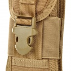 Free Soldier sjb76 Universal CORDURA Tactic Cellphone Bag w/ Elastic Band + Hook - Brown
