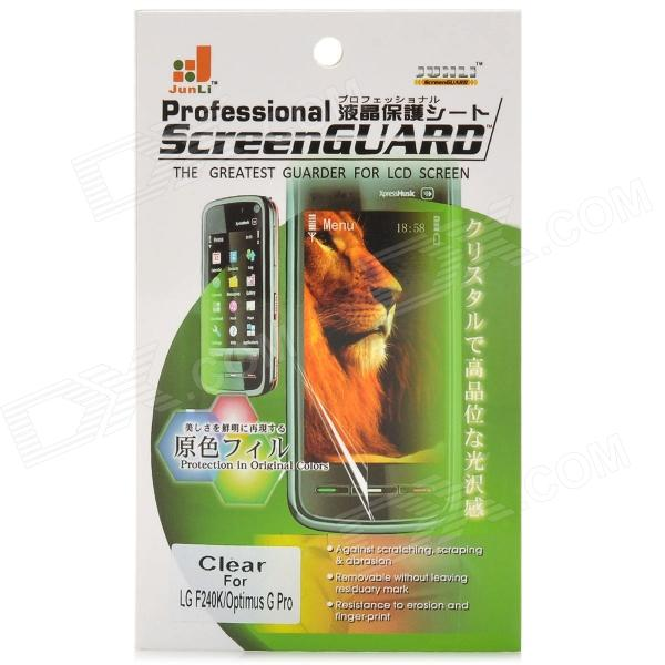 Clear Anti-Static Screen Protector for LG F240K / Optimus G Pro / F240S / F240L