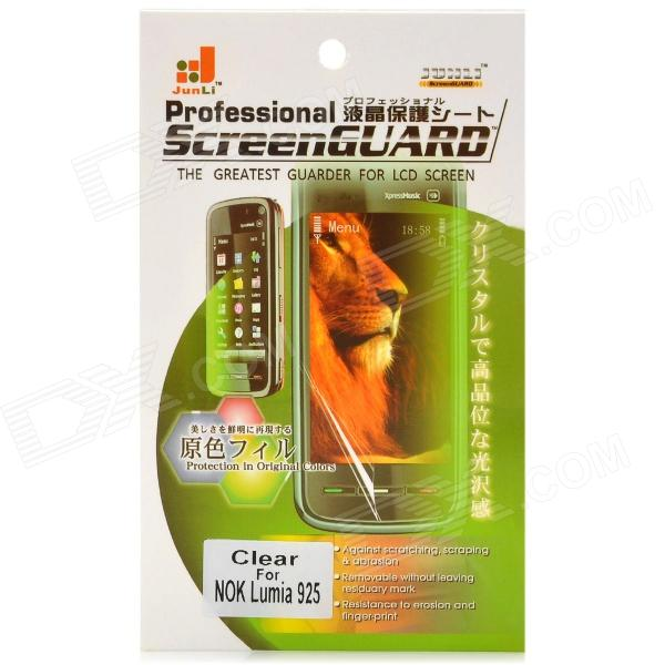 Clear PET Screen Protector for Nokia Lumia 925