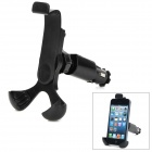 Car Charger 360 Degree Rotatable Mount Stand Holder for Smartphone - Black