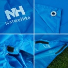 NatureHike Multi-Functional Outdoor Raincoat / Tent / Motorcycle Cover / Ground Cloth - Blue