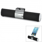 iKANOO F99 Portable Bluetooth V3.0 Stereo MP3 Speaker for Smartphone + Tablets - Black + Silver