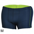 Mountainpeak Outdoor Men's Quick Drying Polyester Boxer Briefs Underpants - Dark Blue (Size M)