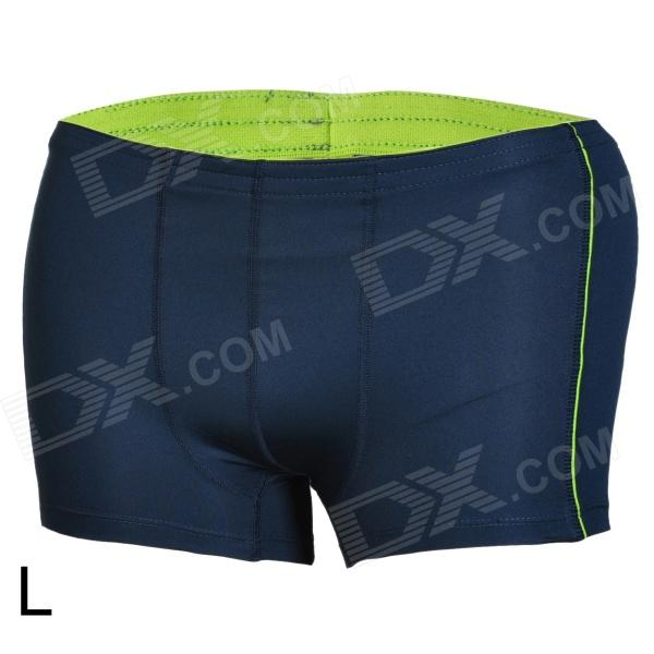 Mountainpeak Outdoor Men's Quick Drying Boxer Briefs Underpants - Dark Blue (Size L) футболка hardlunch outdoor pocket f15 dark blue l