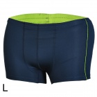 Mountainpeak Outdoor Men's Quick Drying Boxer Briefs Underpants - Dark Blue (Size L)