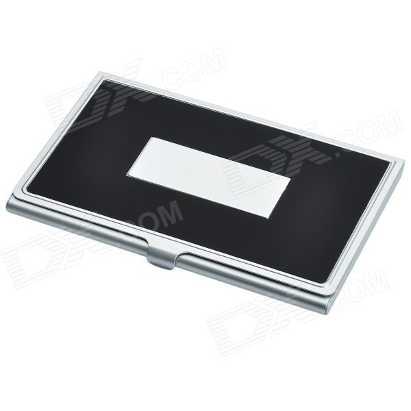 Exquisite Stainless Steel Name Card Case - Color Assorted