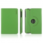 ENKAY ENK-7105 360 Degree Rotation Protective PU Leather Case Cover for Google Nexus 7 - Green