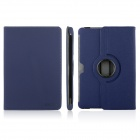 ENKAY ENK-7016 Cowboy Pattern 360 Degree Rotate Protective PU Leather Case for Samsung P5100 -  Blue