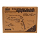 Sun Idea EK-DIY06-G DIY Creative Handgun Style Handcraft Wooden Kid's Educational Toy - Beige