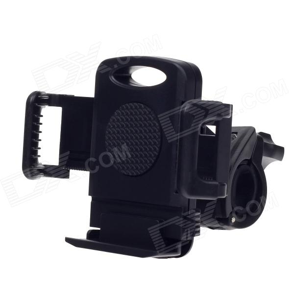 Universal Motorcycle 4-ports Holder for Cell Phone / MP5 / GPS  - Black universal swivel tripod stand holder for cell phone camera black