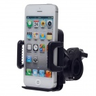 Universal Motorcycle 4-ports Holder for Cell Phone / MP5 / GPS  - Black