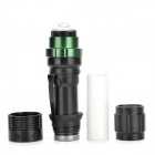 HHL-SDT-04-HEISE 80lm White 3-Mode Zooming Flashlight w/ CREE XP-E Q5 - Black (1 x 18650)
