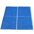 DIY Anti- Slip Shower Bath Mat w/ Massage Function - Blue (4 PCS)