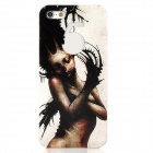 Enkay ENK-6001A Devil Girl Pattern Protective PC Kunststoff-Gehäuse für iPhone 5 - White + Black