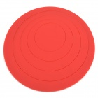 Creative Round Circle Shaped Acrylic 3D Wall Stickers Set - Red