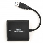 UNITEK Y-9313 USB 3.0 Card Reader for CF/TF/SDHC/SDXC - black
