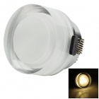 HUGEWIN HSD813 3W 200lm 3500K 3 x LED Warm White Down Light (AC 85~265V)