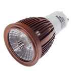 ZIYU ZY-647 GU10 5W 500lm 6500K COB LED White Light Lamp Bulb - Brown + White (85~265V)