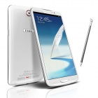 "iNew I6000 MTK6589T Quad-Core Android 4.2 WCDMA Bar Phone w/ 6.5"" FHD IPS, 16GB ROM - White"