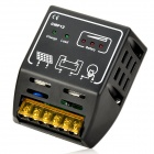T-001 12V 24V 10A Solar Power Controller - Black